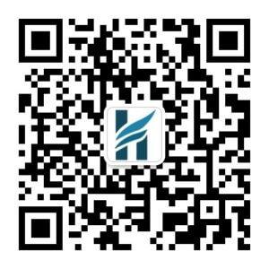 WeChat QR Code vom HLS Education Center.