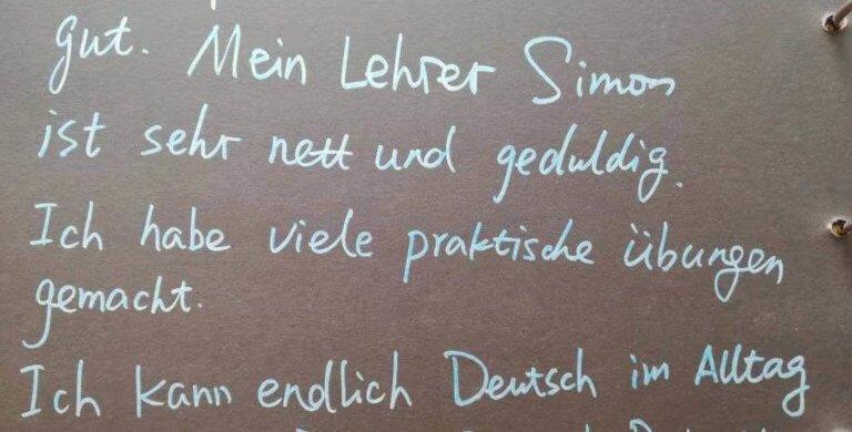Feedback Sprachkurs in Essen Sprachschule in Essen Deutschkurse bei HLS Education Center