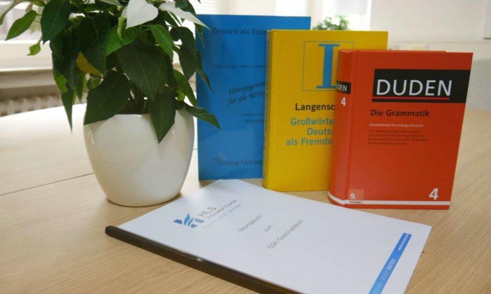 Kursmaterial zu Deutschkurse beim HLS Education Center, Sprachschule Essen